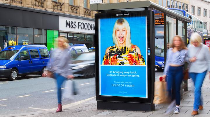 Bus Shelter Stop Advert Advertising Commuter Queue Wait Shop